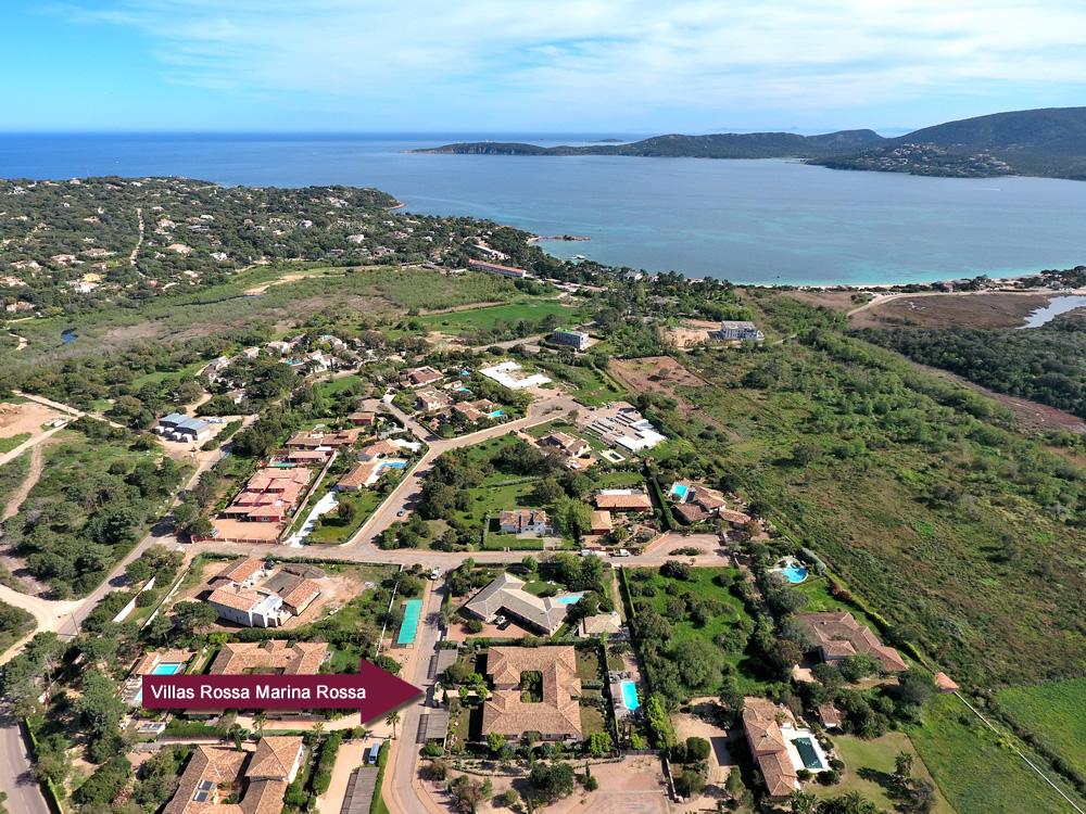 Villas rossa location de vacances porto vecchio corse du sud for Camping en corse du sud avec piscine
